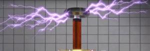 Катушка Тесла со стримерами